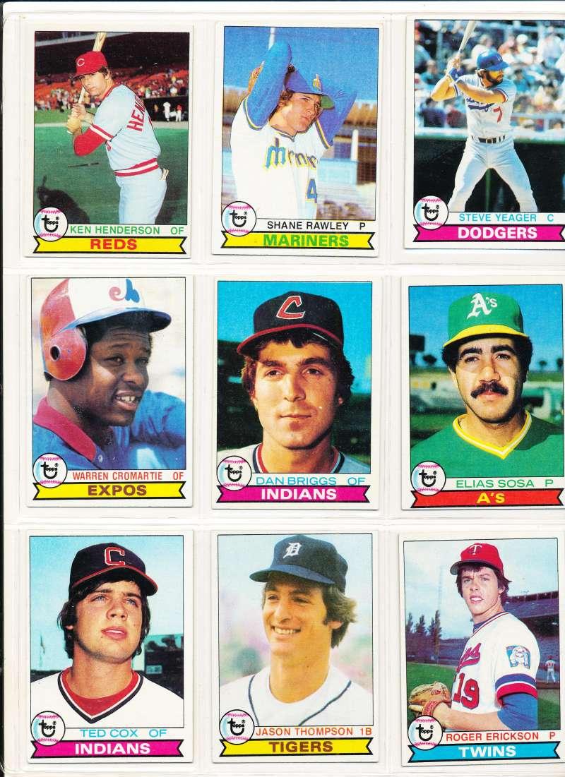 1979 Topps #77 Dan Briggs DP Cleveland Indians