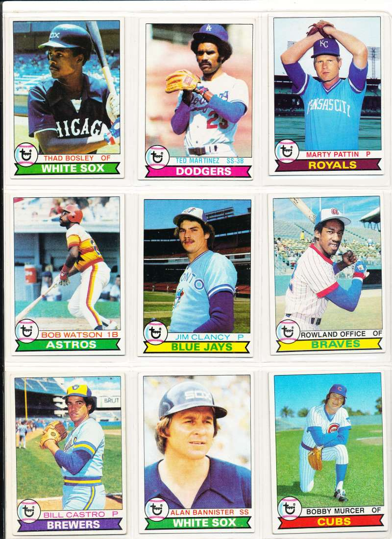 1979 Topps #127 Thad Bosley Chicago White Sox