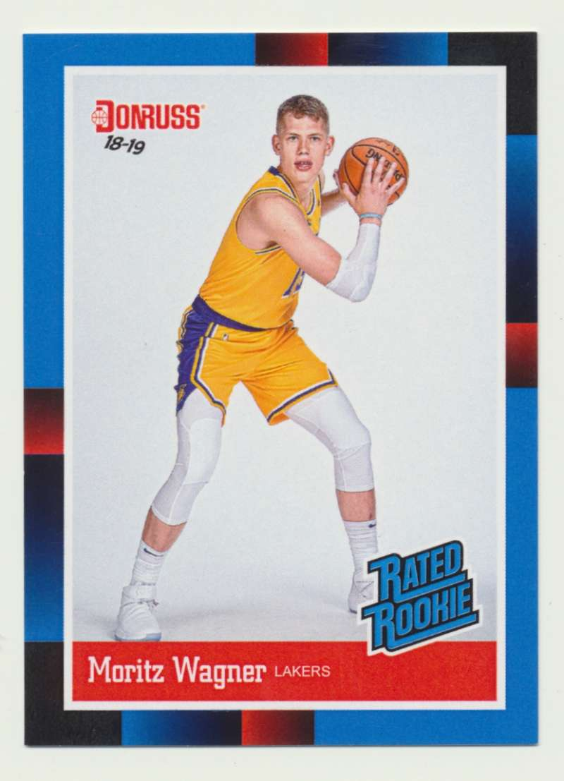 2018-19 Panini Instant NBA 1988 Rated Rookie Retro #RR23 Moritz Wagner RC Rookie Los Angeles Lakers