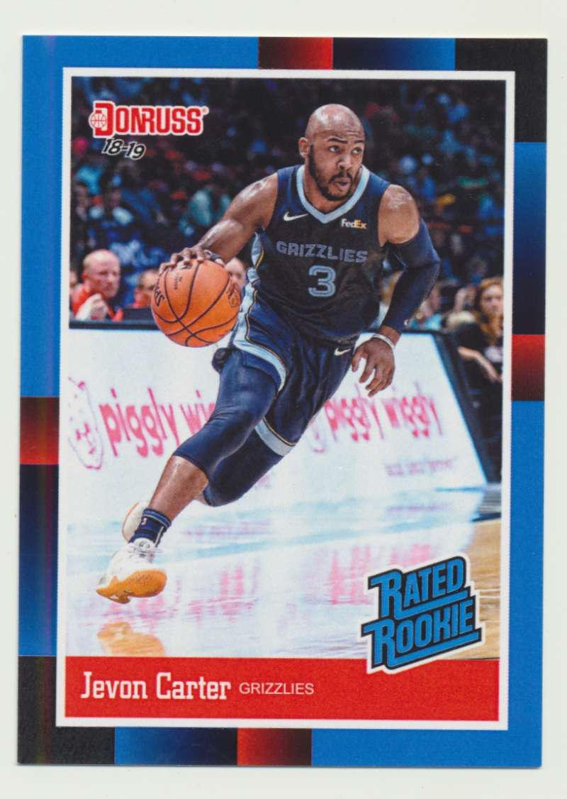 2018-19 Panini Instant NBA 1988 Rated Rookie Retro #RR30 Jevon Carter RC Rookie Memphis Grizzlies