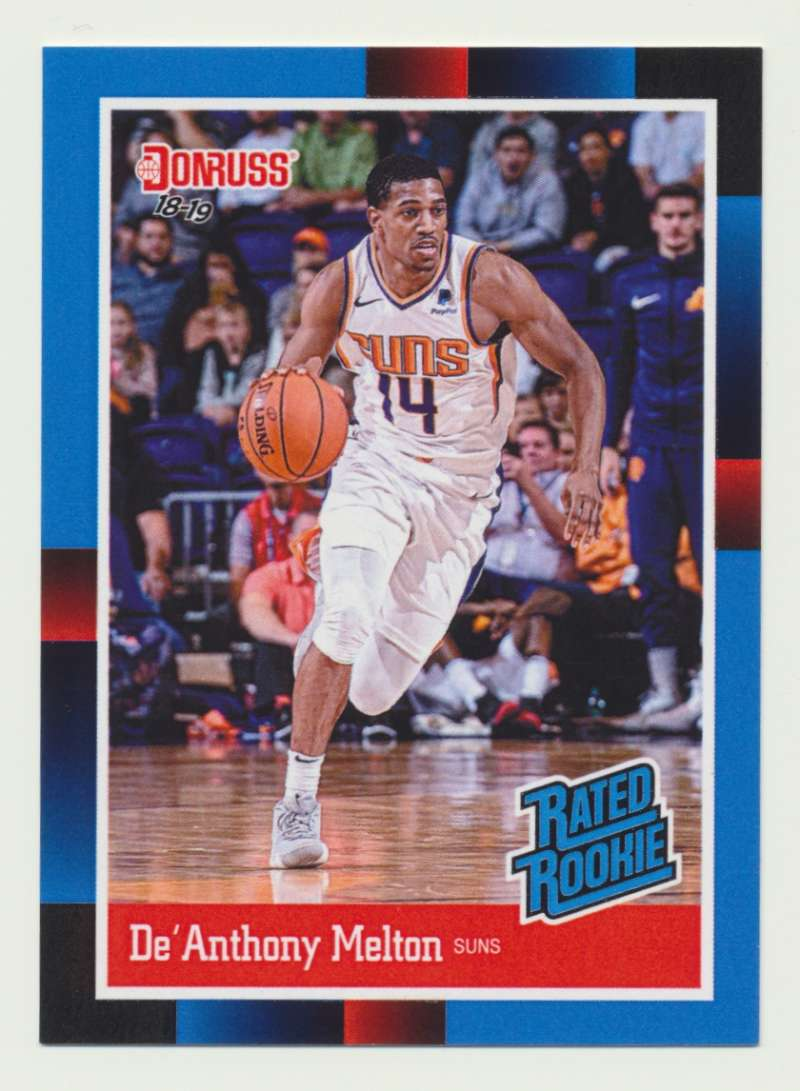 2018-19 Panini Instant NBA 1988 Rated Rookie Retro #RR37 De'Anthony Melton RC Rookie Phoenix Suns