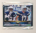 2015 Super Bowl 50 Stamp San Diego Chargers Team Set