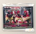 2015 Super Bowl 50 Stamp San Francisco 49ers Team Set