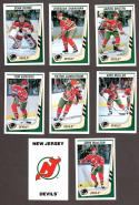 1989-90 Panini Stickers Complete Team Set New Jersey Devils