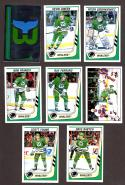 1989-90 Panini Stickers Complete Team Set Hartford Whalers