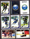 1989-90 Panini Stickers Complete Team Set Buffalo Sabres