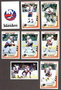 1989-90 Panini Stickers Complete Team Set New York Islanders