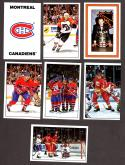 1989-90 Panini Stickers Complete Team Set Montreal Canadians