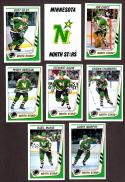 1989-90 Panini Stickers Complete Team Set Minnesota North Stars