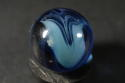 Beautiful Vitro Agate Transparent Cobalt Blue Baby Blue V NM/MT