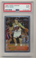 1996-97 Topps Chrome #182 Steve Nash PSA 9 MINT RC Rookie Phoenix Suns