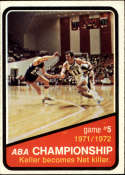 1972-73 Topps #245 ABA Playoffs Game 5
