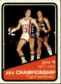1972-73 Topps #246 ABA Playoffs Game 6