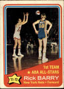 1972-73 Topps #250 Rick Barry AS New York Nets