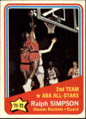 1972-73 Topps #257 Ralph Simpson AS Denver Rockets