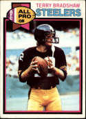1979 Topps #500 Terry Bradshaw UER Pittsburgh Steelers