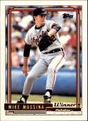 1992 Topps Gold Winners #242 Mike Mussina COND Baltimore Orioles