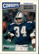1987 Topps #264 Herschel Walker COND RC Rookie Dallas Cowboys