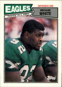 1987 Topps #301 Reggie White COND Philadelphia Eagles