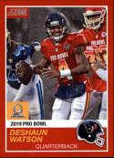 2018 Panini Instant NFL Pro Bowl 1989 Score Design #3 DeShaun Watson Houston Texans