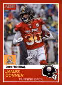 2018 Panini Instant NFL Pro Bowl 1989 Score Design #5 James Conner Pittsburgh Steelers