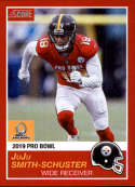2018 Panini Instant NFL Pro Bowl 1989 Score Design #8 JuJu Smith-Schuster Pittsburgh Steelers