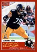 2018 Panini Instant NFL Pro Bowl 1989 Score Design #10 Alejandro Villanueva Pittsburgh Steelers