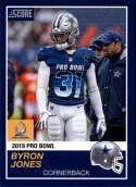 2018 Panini Instant NFL Pro Bowl 1989 Score Design #30 Byron Jones Dallas Cowboys