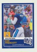 2018 Panini Instant NFL Pro Bowl 1989 Score Design #16 Dak Prescott Dallas Cowboys