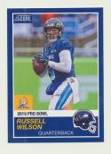 2018 Panini Instant NFL Pro Bowl 1989 Score Design #19 Russell Wilson Seattle Seahawks