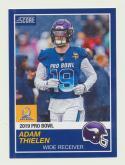 2018 Panini Instant NFL Pro Bowl 1989 Score Design #23 Adam Thielen Minnesota Vikings