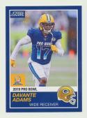 2018 Panini Instant NFL Pro Bowl 1989 Score Design #24 Davante Adams Green Bay Packers