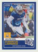 2018 Panini Instant NFL Pro Bowl 1989 Score Design #26 DeMarcus Lawrence Dallas Cowboys