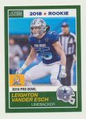 2018 Panini Instant NFL Pro Bowl 1989 Score Design #28 Leighton Vander Esch Dallas Cowboys
