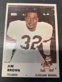 1961 Fleer #11 Jim Brown EX/NM Cleveland Browns