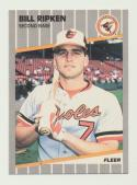 1989 Fleer #616a Billy Ripken FFace NM-MT+ Baltimore Orioles