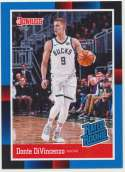 2018-19 Panini Instant NBA 1988 Rated Rookie Retro #RR15 Donte DiVincenzo RC Rookie Milwaukee Bucks