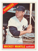 1966 Topps #50 Mickey Mantle EX/NM New York Yankees