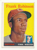 1958 Topps #285 Frank Robinson VG/EX Very Good/Excellent Cincinnati Reds